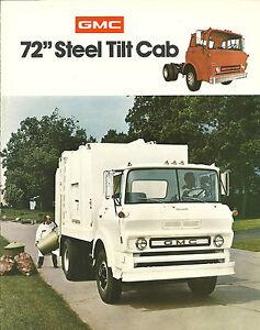 1975 gmc 72 steel tilts truck brochure te 6000 6500 tilt. Black Bedroom Furniture Sets. Home Design Ideas