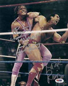 Bret-Hart-Razor-Ramon-Signed-WWF-WWE-8x10-Photo-PSA-DNA-COA-Scott-Hall-Hitman