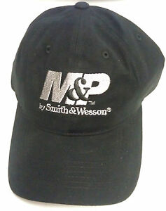 m p by smith wesson hat baseball cap black w