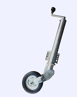 60mm Auto Fold Trailer Jockey Wheel (400Kg) Extra Heavy Duty MP977