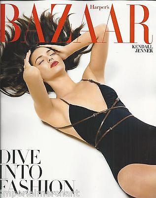 Harpers Bazaar Magazine Kendall Jenner Florence Welch Katharine Hepburn Runway