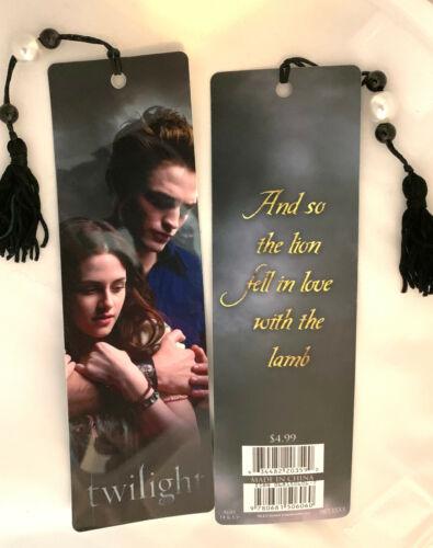 NEW Twilight Saga Bookmark Edward Merchandise Valentine