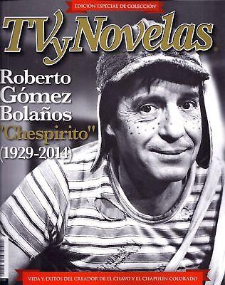 ROBERTO GOMEZ BOLANOS CHESPIRITO TRIBUTE TV Y NOVELAS DECEMBER 2014 NEW