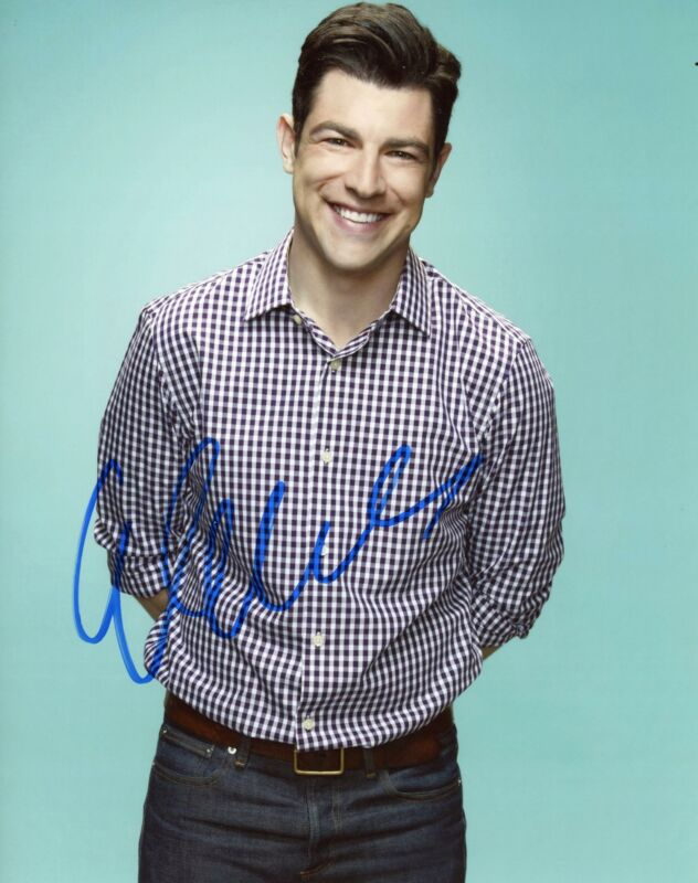 """Max Greenfield """"New Girl"""" AUTOGRAPH Signed 8x10 Photo D"""