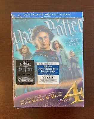 Harry Potter and the Goblet of Fire - Ultimate Blu-ray - Brand New & Sealed
