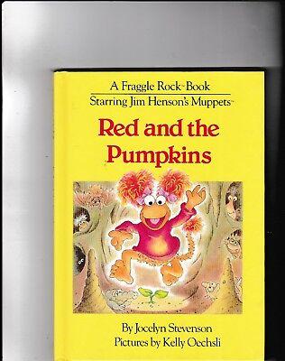Red and the Pumpkins---Jocelyn Stevenson---Kelly Oechsli---hc-1983-Jim Henson (Kelly Henson)