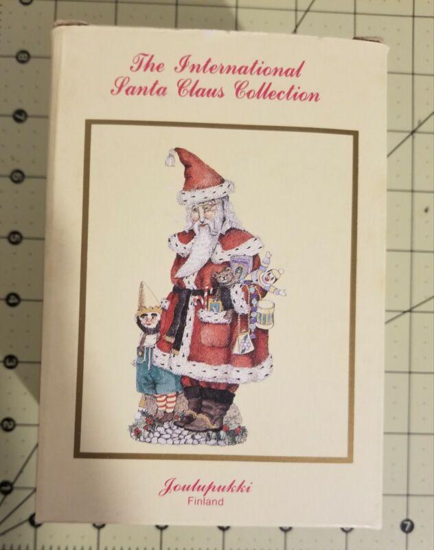 "1993 International Santa Claus Collection ""Joulupukki"" Finland SC10 Dillards-UEC"