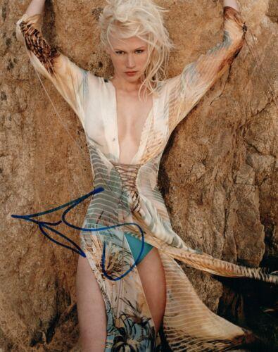 January Jones Signed Autographed 8x10 Photo Mad Men Hot Sexy Star COA VD