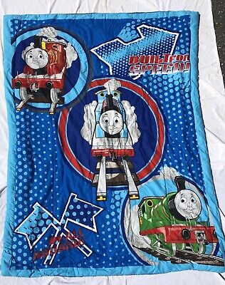 Thomas the Tank Engine & Friends Train Twin Size Comforter Blanket EXCELLENT