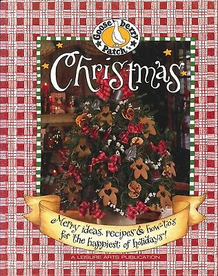 Gooseberry Patch Christmas Book 1999 Recipes Crafts Storybook Santa Wreath Swag](Christmas Wreath Recipe)