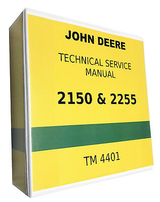 2150 John Deere Technical Service Shop Repair Manual