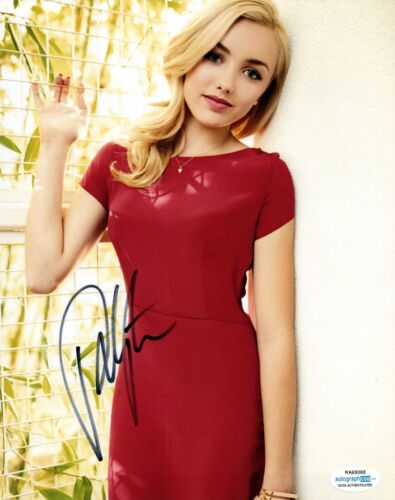Peyton List Signed Autograph 8x10 Photo Disney's BUNK'D & JESSIE Actress ACOA