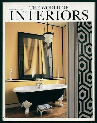 World of Interiors Dec 2007 WOLVERTON HALL WORCS OUTRELAISE NORMANDY CALKE ABBEY
