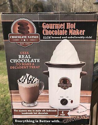 Hot Chocolate Maker (Chocolate Nation Gourmet Hot Chocolate Maker Machine )