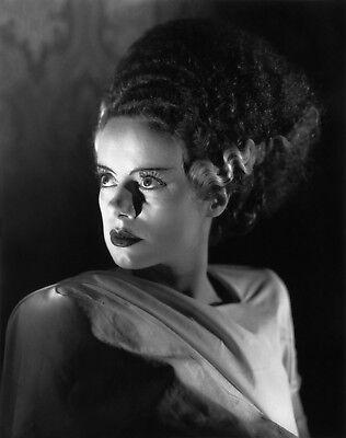 Halloween Movie Photos (Elsa Lanchester Bride of Frankenstein Photo Art Halloween Movie Photos)