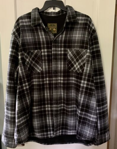NWT Mens Sz 3XLT Anchorage Expedition Sherpa Fleece Lined Sh