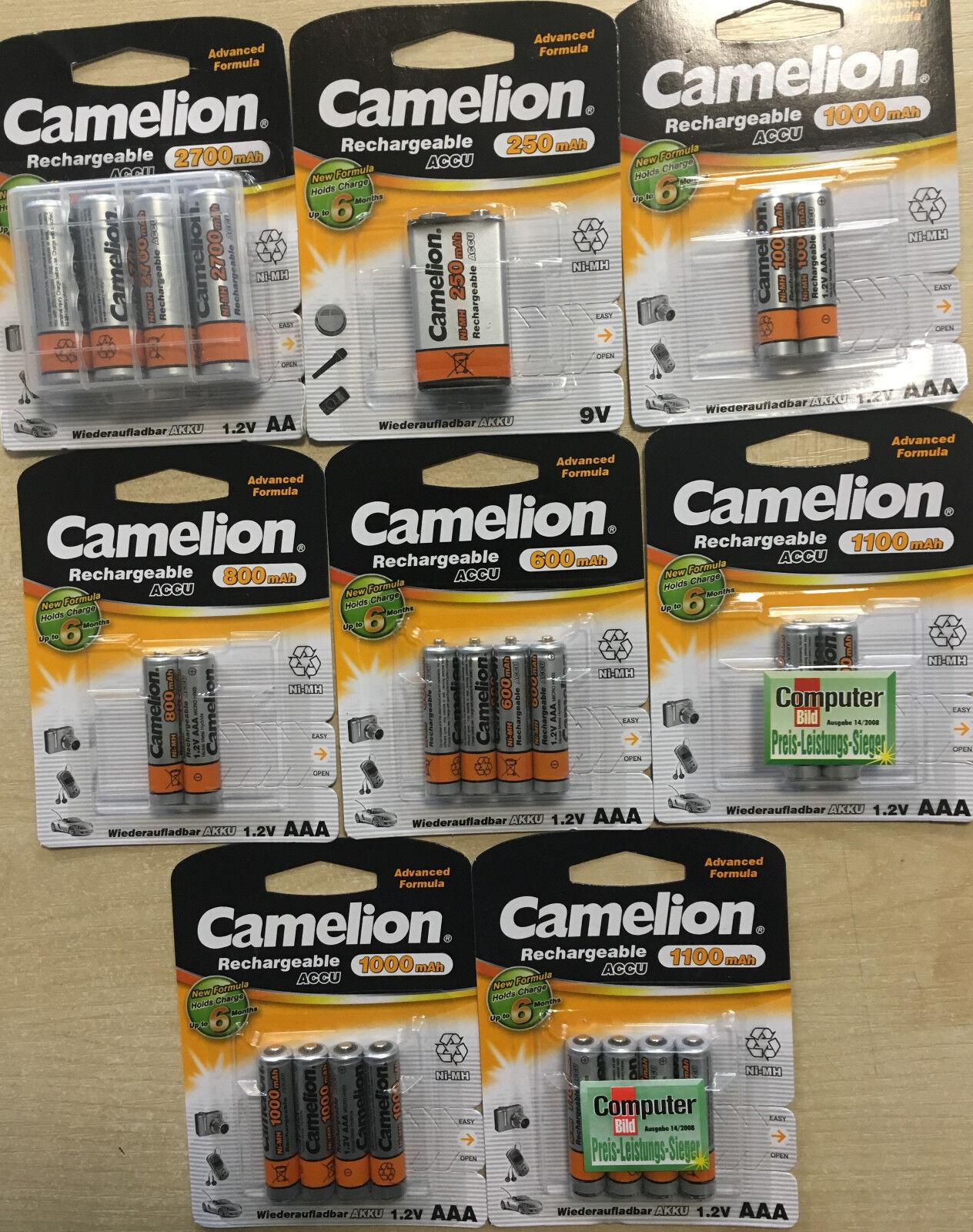 Camelion Aaa Micro 900 Mah Akku Aufladbar Für Telekom Siemenstelefon 4 Stück Handys & Kommunikation