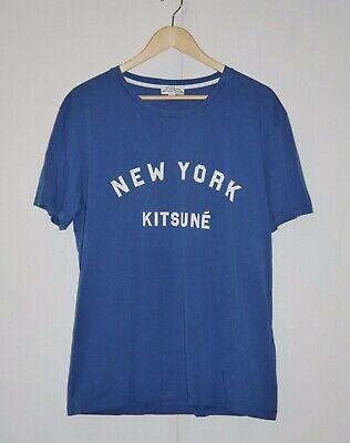 Maison Kitsuné New York T-Shirt sz XL USED