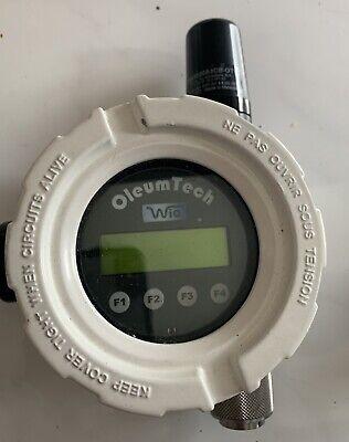 Oleumtech Liquid Level Transmitter Wlcd Wt-xxxx-ll1 Used