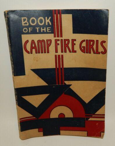 Vintage 1957 Camp Fire Girls Book Manual