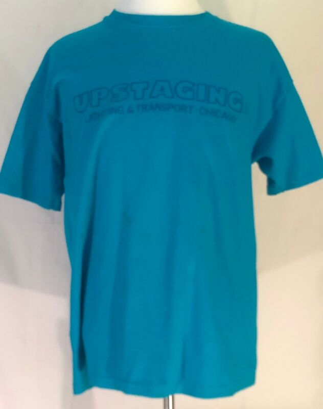 U2 1992 Zoo TV Tour Outside Broadcast Upstaging Crew Shirt Size XL
