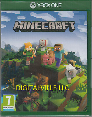 Minecraft Xbox One Brand New Factory Sealed