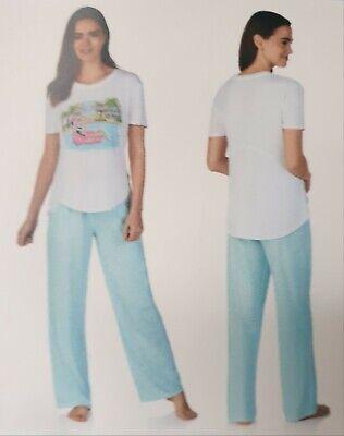 Jane and Bleecker 2 Piece PJ Set Pyjama Sleepwear Nightwear Size Large