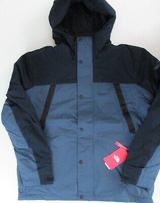 The North Face Stetler Impermeable Aislado Chaqueta Lluvia Azul Talla XL Nwt