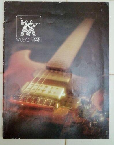 1976 Music Man - Guitar, Bass. Amplifiers - Vintage Catalog