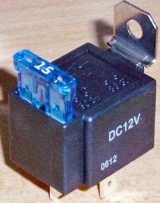 12 Volt Schließerrelais 25 Ampere Micro Arbeitsrelais