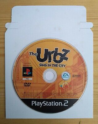 The Urbz: Sims In The City (Disk Only) - PlayStation 2 / PS2
