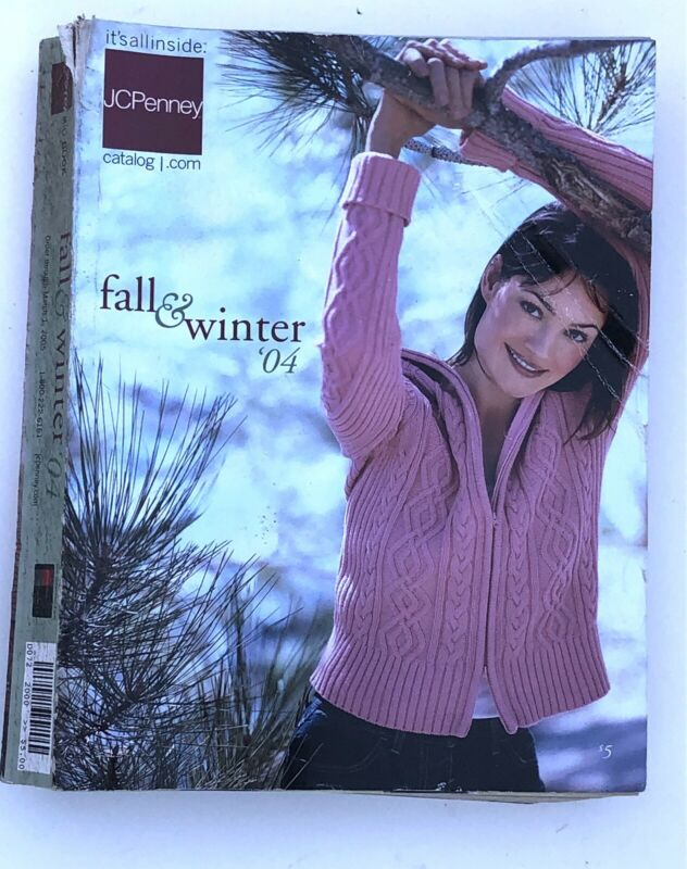 JCPenney Big Book Catalog Fall & Winter 2004 Vintage Fashion JCP
