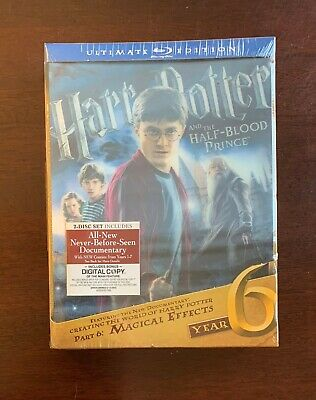 Harry Potter and the Half-Blood Prince - Ultimate Blu-ray - Brand New & Sealed