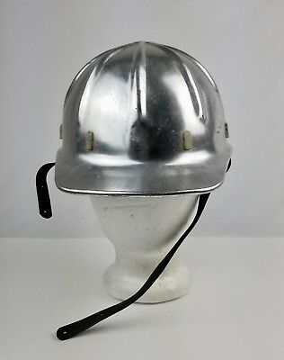 Vintage Apex Safety Products Aluminum Hard Hat Safety Helmet No Dents