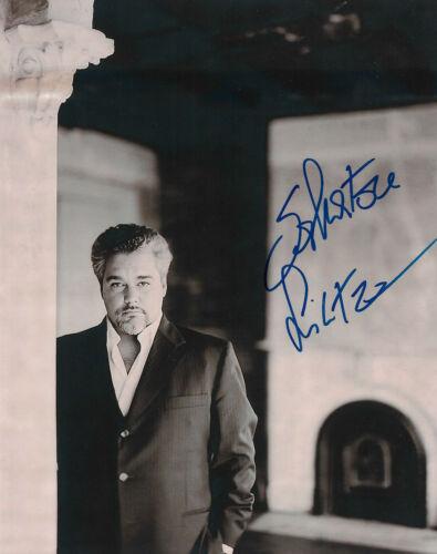 Salvatore Licitra Opera signed 8x11 inch photo autograph