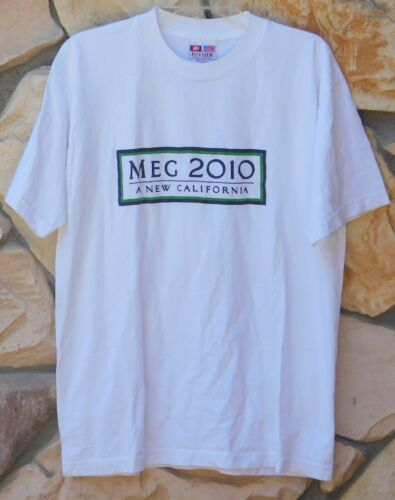 MEG WHITMAN Ebay Hp 2010 Governor Race T-Shirt A NEW CALIFORNIA