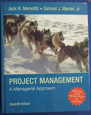 Project Management   A Managerial Approach By Samuel J   Jr  Mantel W Cd