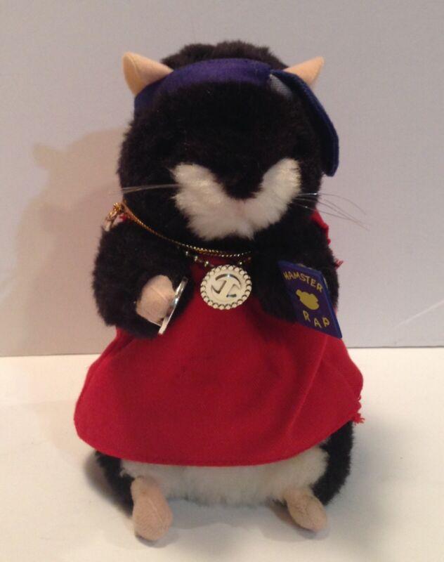 "Gemmy Dancing Hamster Grand Master Blaster 2001 Dances To ""Rockafeller Skank"""