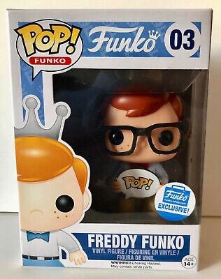 Funko Pop! Freddy Funko Nerd Glasses #03 Funko-Shop Exclusive Vinyl (Nerd Glasses Name)
