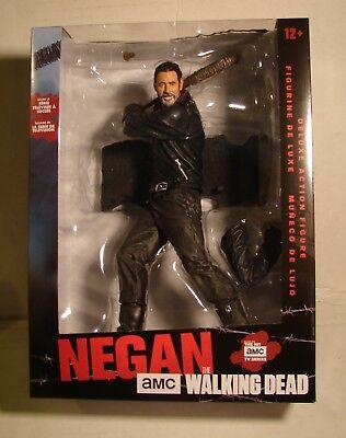 Instock Now  Mcfarlane Toys 10  Amc Tv Walking Dead Negan Deluxe Action Figure