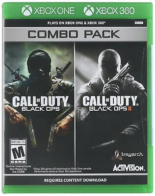 Call of Duty: Black Ops 1 & 2 Combo Pack ( Xbox 360 / Xbox One ) Brand new.