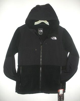 THE NORTH FACE MENS DENALI 2 HOODIE FLEECE JACKET-  S,M, L, XL, XXL - TNF BLACK