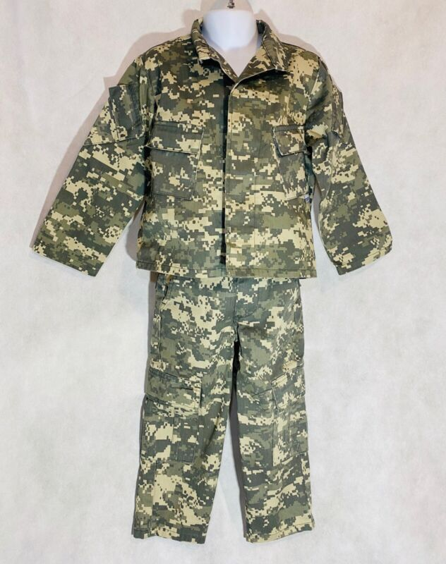 Childrens US Army Digital Camo Toddler Size Shirt Pants Trooper Clothing Co