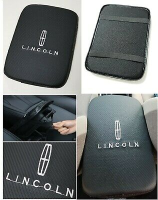 Lincoln 66h Series (UNIVERSAL LINCOLN Carbon Fiber Car Center Console Armrest Cushion Mat Pad Cover  )