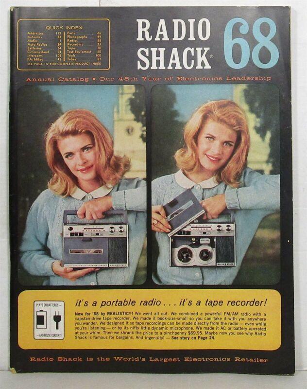 1968 Radio Shack annual catalog