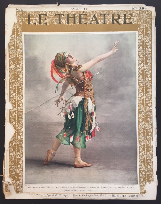 BALLETS RUSSES: Le Theatre No. 298, May 1911
