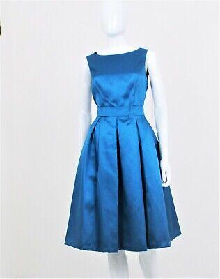 Isaac Mizrahi New York (NY) - UK Size 6 - Blue - Polyester Ball Gown