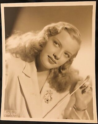 Musical Mary Hartline -Audition Photo, 1949, Personalized Autograph To Buyer