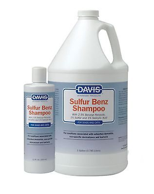 Davis Sulfur Benz Shampoo, 12 oz