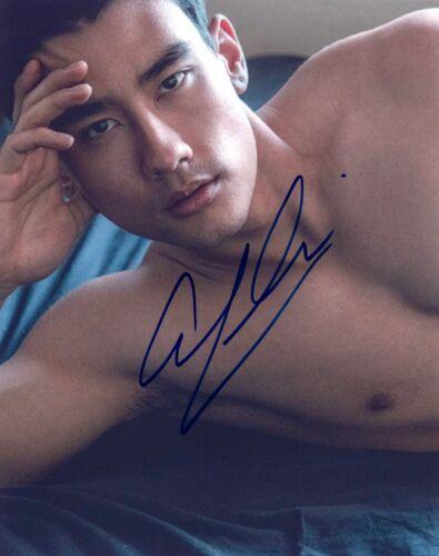 Alex Landi Signed Autographed 8x10 Photo GREY'S ANATOMY Actor Shirtless Pose COA